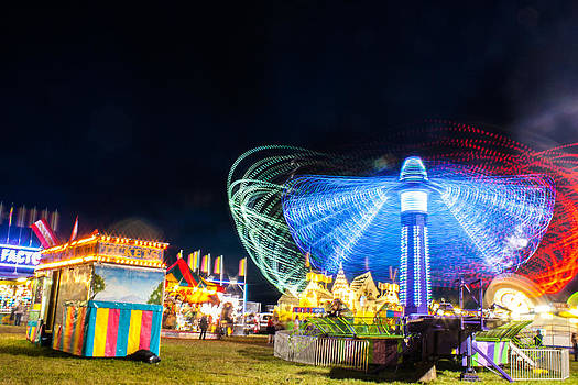 Carnival Whirl by Dawn Romine