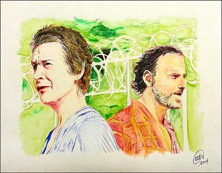 Carol and Rick by Kyle Willis