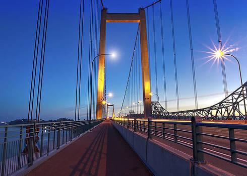 Carquinez Bridge II by Phil Clark