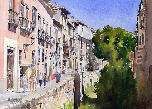 Carrera del Darro by Margaret Merry