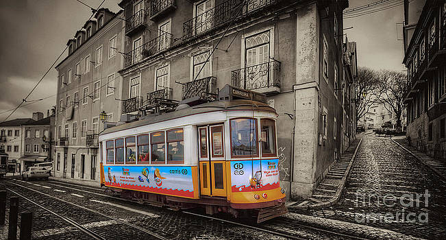 English Landscapes - Carris Tram 574 Lisbon