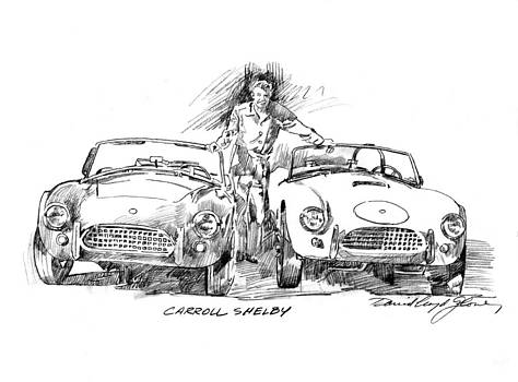 David Lloyd Glover - Carroll Shelby and the Cobras
