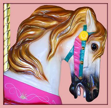 Carrousel Horse by Jennifer Muller