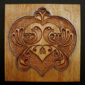 Hanne Lore Koehler - Carved Cookie Mold 10