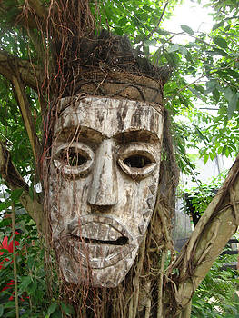 Carved Mask by Carmine Arcaro