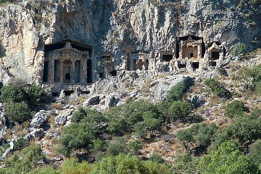 Tracey Harrington-Simpson - Carved Rock Tombs at Dalyan