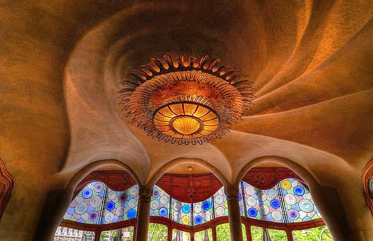 Casa Batllo Interior by Jack Daulton
