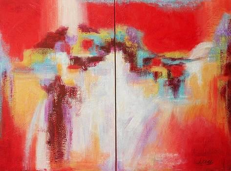 Cascade 2 by Irene Hurdle