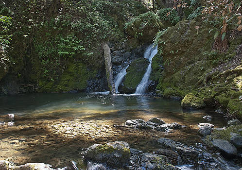 Cascade Falls by Kenneth Hadlock