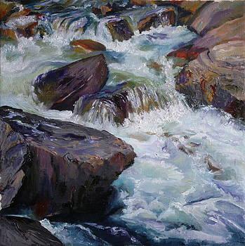 Cascades after Daniel Edmondson by Mary Wykes