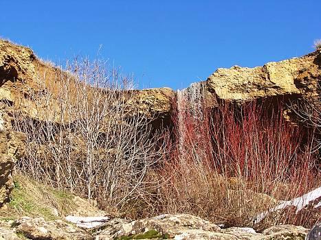 Cascades d'Elghoraf by Faouzi Taleb
