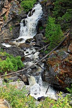 Cascades waterfall by Randall Templeton