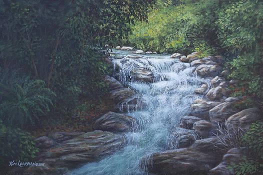 Cascading Stream by Kim Lockman