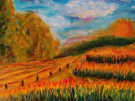 Cass County Gold Detail by Cindy Lawson-Kester
