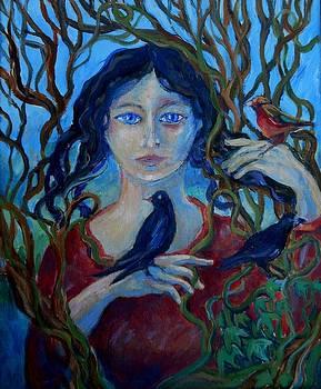Cassandra and the birds  by Trudi Doyle