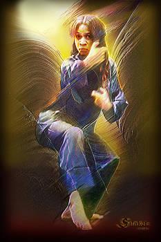 Cassandra Oliviere Action Portrait by Salakot