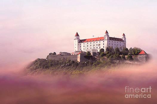 Castle in the air II. - Bratislava Castle by Martin Dzurjanik