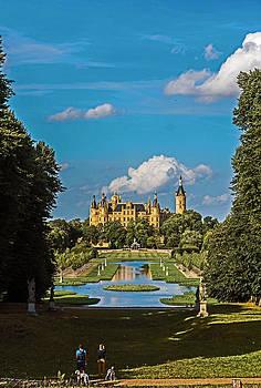 Castle of Schwerin by Michael Lobisch-Delija