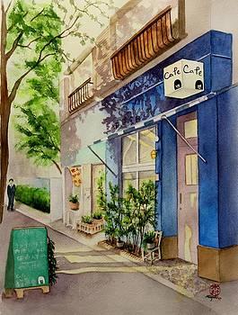 Cat Cafe by Miyuki Kimura