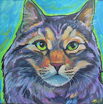 Cat Commission 2 by Jenn Cunningham