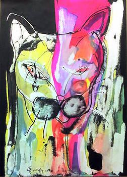 Cat by Rafiq Abduljabbar