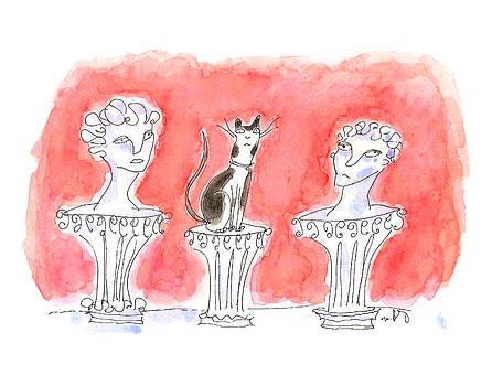 Cat Statuary by Molly Brandenburg