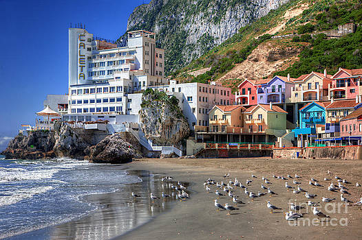 English Landscapes - Catalan Bay