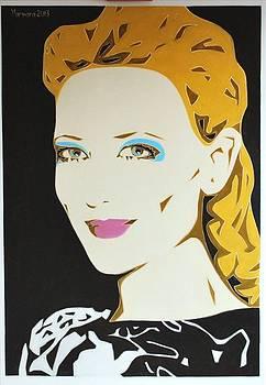 Cate Blanchett by Varvara Stylidou