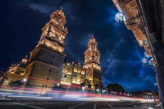 Catedral de Morelia by Alejandro Tejada