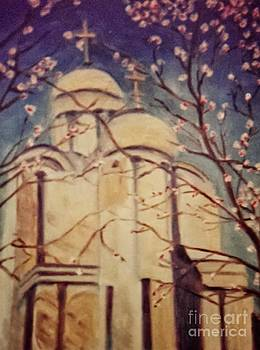 Cathedral at Springtime by Karen Francis