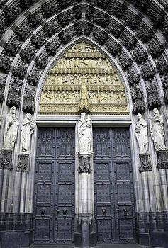 Teresa Mucha - Cathedral Doors West Entrance