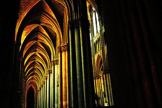 Cathedral of Reims hall by Erik Tanghe