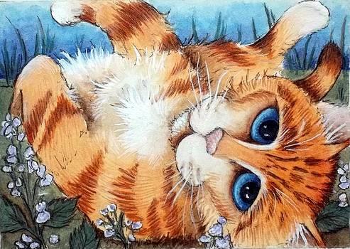 Catnip Break by Debrah Nelson