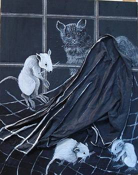 Cats and Rats by Georgia Annwell