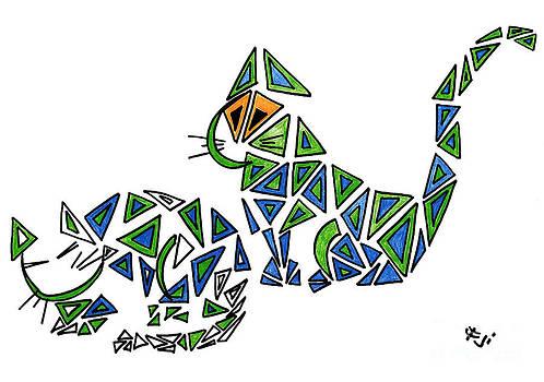 Cats by Ingrid Barlebo-Larsen