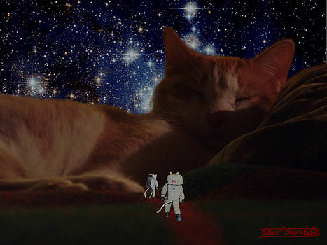 Catstronauts discover the Supreme Cat by John Paul Blanchette
