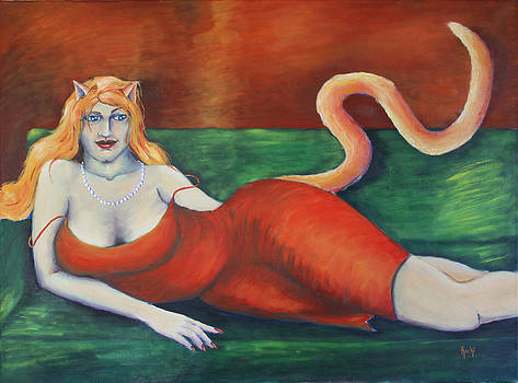 Catwoman by Kristina Granholm