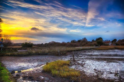 English Landscapes - Causeway Sunset