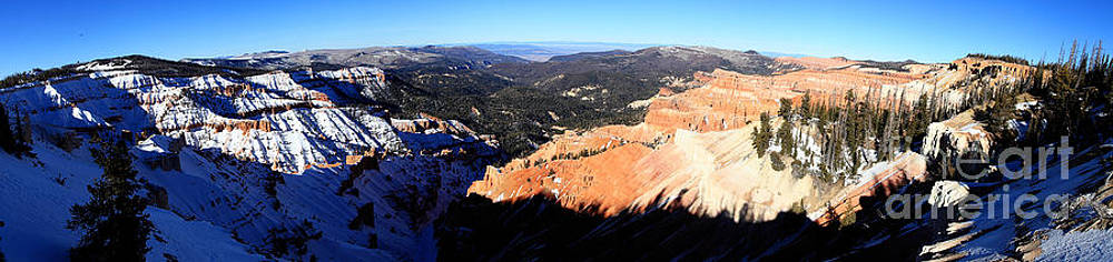 Cedar Breaks Panorama by Val Armstrong