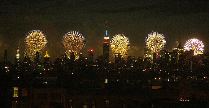 Celebrate Freedom by Carl Hunter