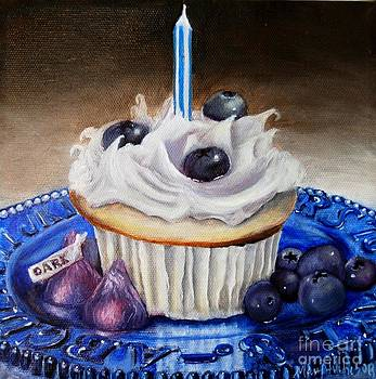 Celebration in Blue by Mary Hughes