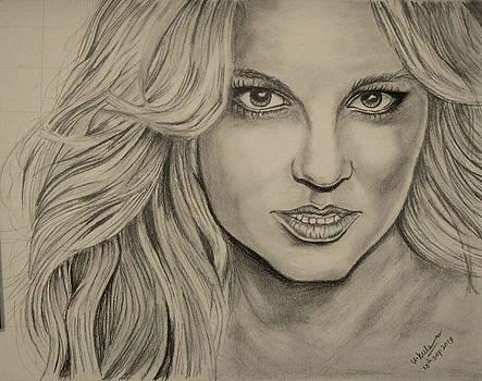 Celebrity Portrait by Umme Kulsoom
