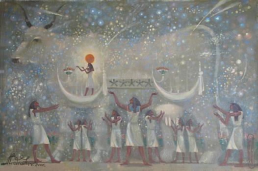 Celestial con by Valentina Kondrashova