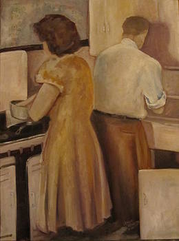 Celia and Peter by Maria Milazzo