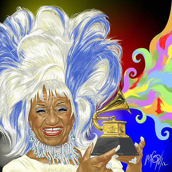 Celia Cruz by Miguel Osorio