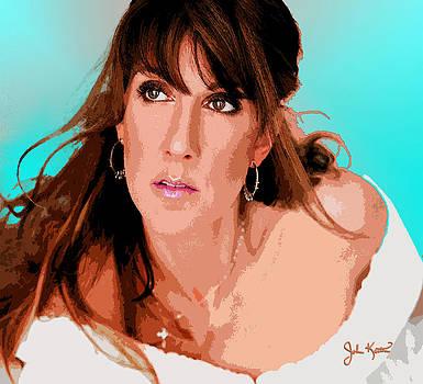 Celine Dion by John Keaton