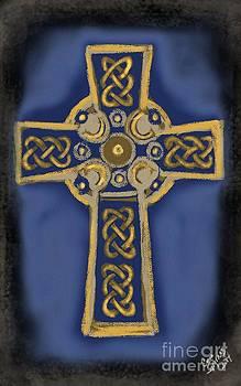 Celtic Cross by Carrie Joy Byrnes