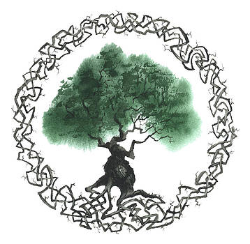 Celtic Tree Of Life 2 by Sean Seal