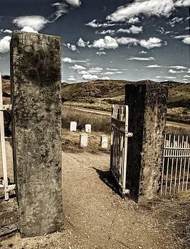 Cemetery Gate by Greg Bush