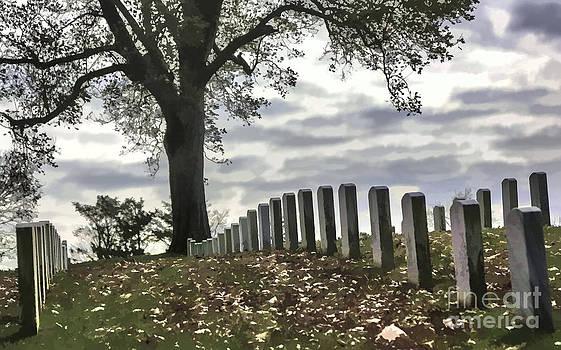 Chuck Kuhn - Cemetery Paint